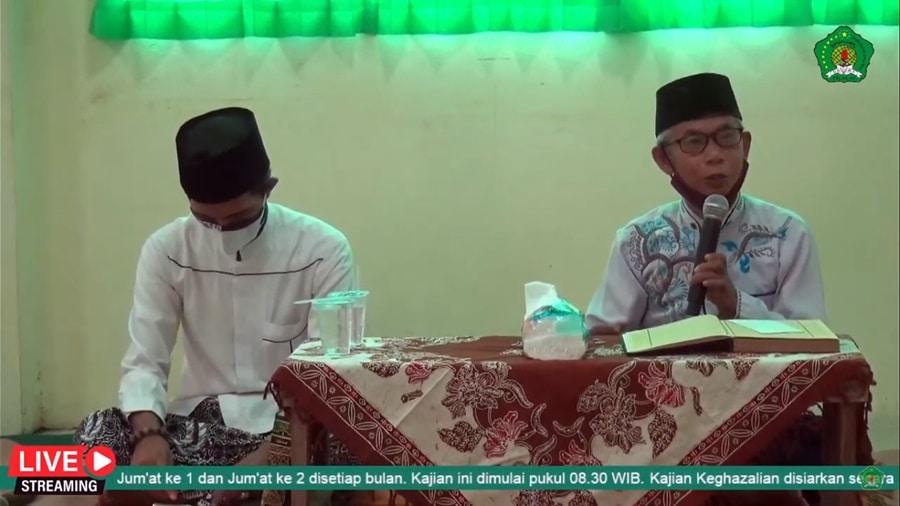 """Kajian Keghazalian """"Etika Makan"""" (Kiyai Sudirwan, M.H & KH. Ahmad Shoim El Amin)"""