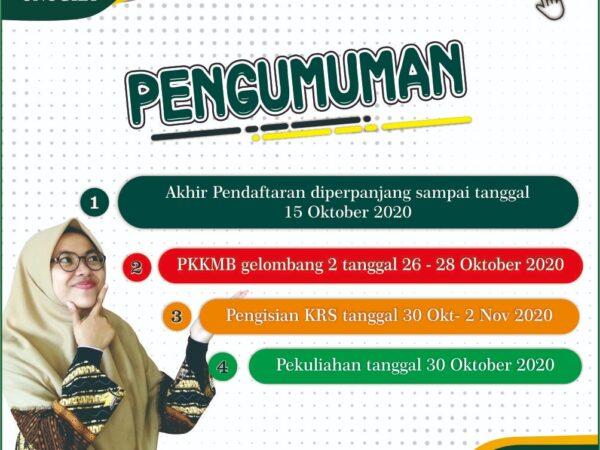 PKKMB Gelombang 2 - Pengenalan Kehidupan Kampus bagi Mahasiswa Baru Gel. 2