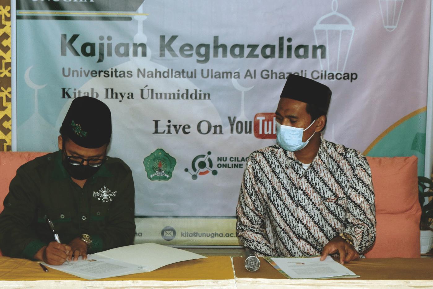 NU Cilacap Official Media (NUCOM) bersinergi dengan UNUGHA