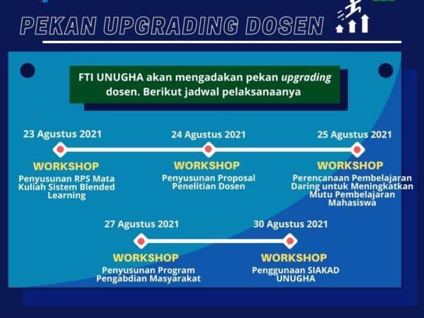 Pekan Upgrading Dosen Fakultas Teknologi Industri (FTI)